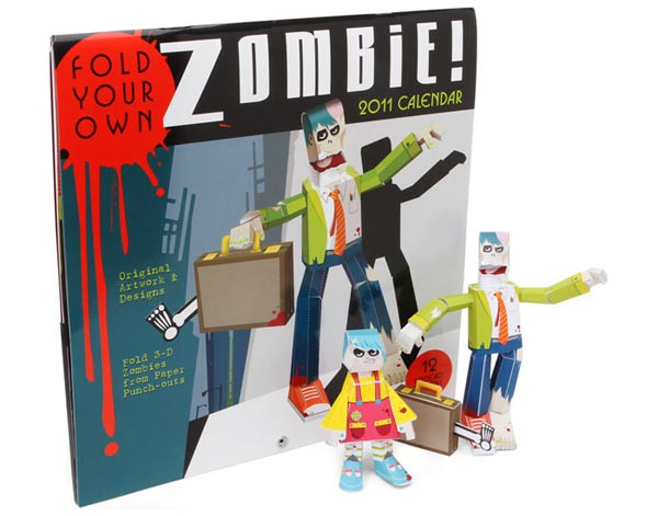 Zombie_paper_craft_2011_calendar_1